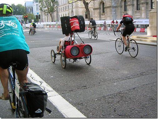 Bicicletas Raras...Pero Con Buen Sonido!!!