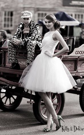 Les robes de mariée de danseuses