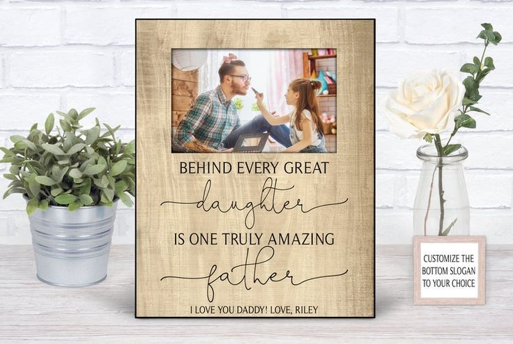 Fathers day gift from daughter personalized fathers day