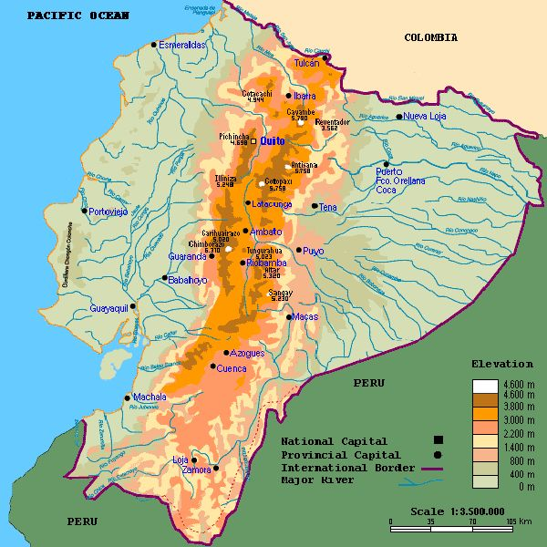 36 best Motorcycle Tours in Ecuador images on Pinterest Ecuador - best of world map with ecuador