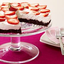 WW Chocolate Amaretto Cheesecake Pie:  6 servings; 4 points+ per serving