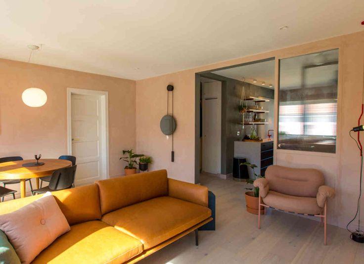 ÅPENT: Det ble lagd en større åpning mellom kjøkken og stue. Foto: Pandora Film