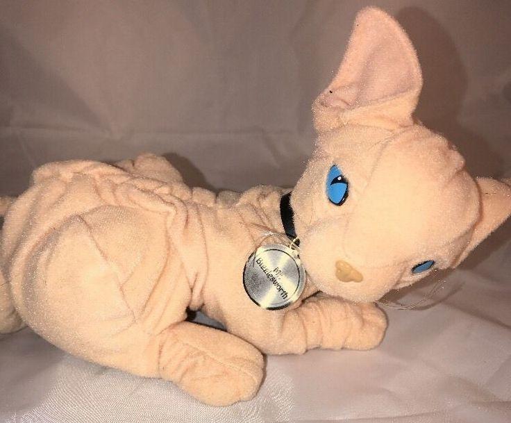 Mr. Bigglesworth Talking Hairless Cat Plush Austin Powers Dr. Evil Kitty Movie  | eBay