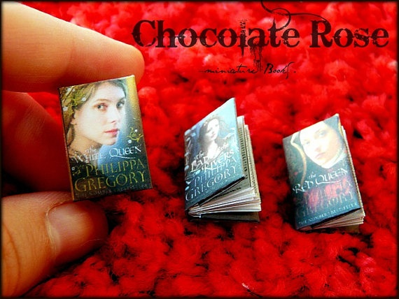 Series The War of the Roses  Miniature Books by ChocolatRose, $28.00