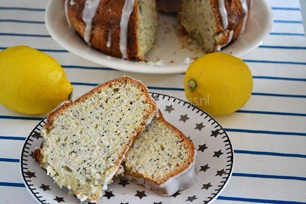 Delicious Lemon & Poppy seed cake.