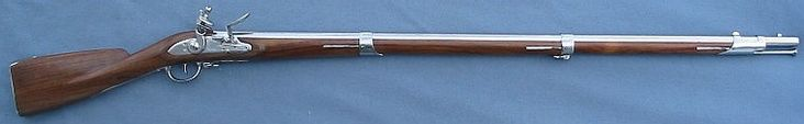 I have a reproduction French 1766 Charleville Infantry Flintlock Musket. France provided tens of thousands of these muskets to the Continental Army during the American Revolutionary War. With the drilling of a vent hole, the musket will be exactly like the originals and will be fire ready.