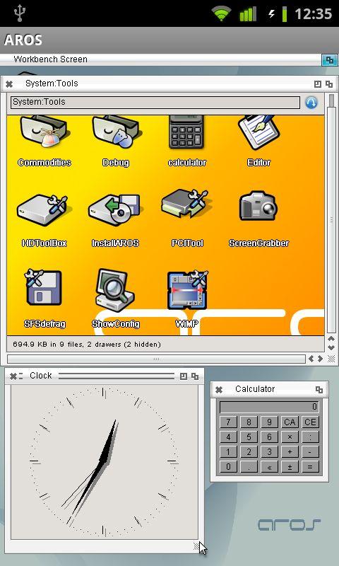 Aros calculator