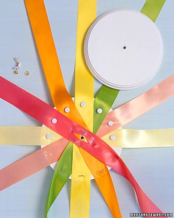 Making a Maypole - Martha Stewart More Holidays