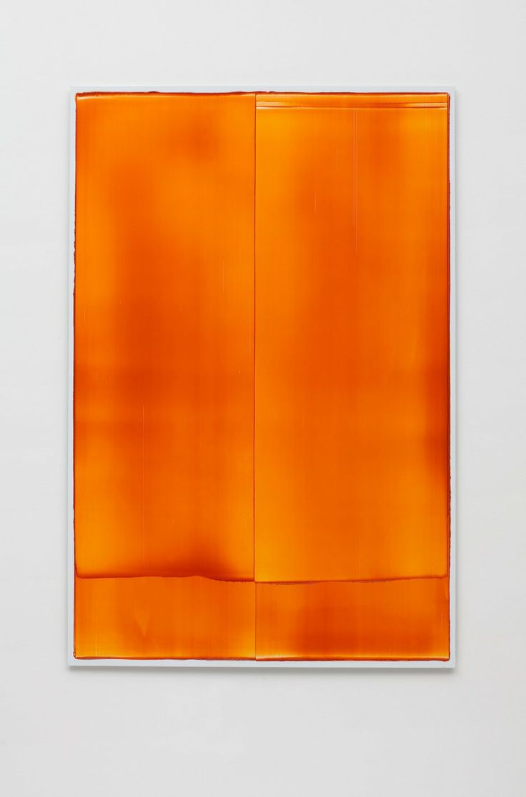 Noel Ivanoff, Slider Deep Red I, 2012, oil on aluminium panel, 1220 x 800 mm
