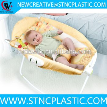 Portable Fold Newborn Rock N Play Sleeper Baby Bassinet Rocker Basket Swings Bed