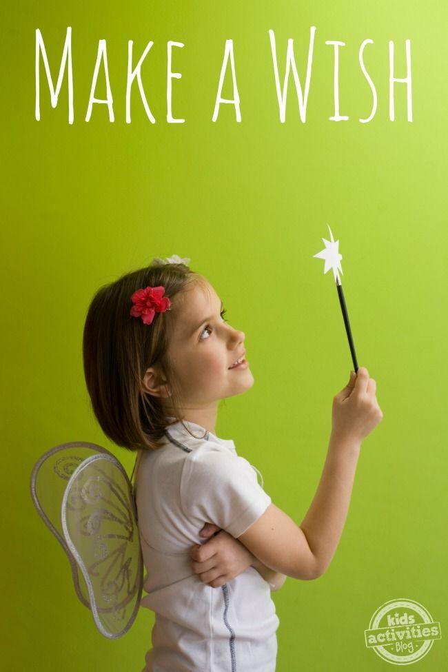 Make a Wish - Kid Charities - Kids Activities Blog