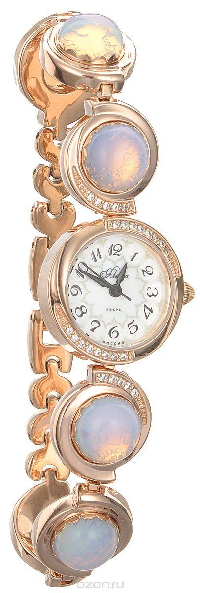 Часы женские наручные Mikhail Moskvin Флора, цвет: золотистый. 1138B8B1 Лунный камень матовый