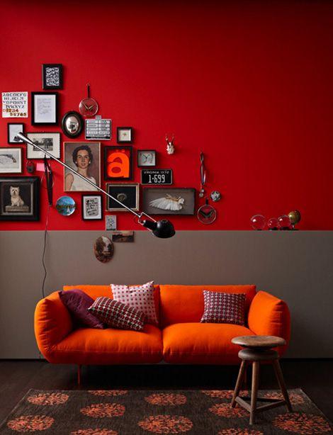 Retratos en el salón