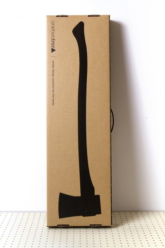 I live how understated and simple this is. #packaging #cardboard
