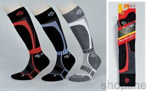 Skarpety Asics Ped Sock 321747 czarne 3 pary