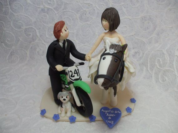 Personalized  bride on the horse & groom on the by Abracadabrakr