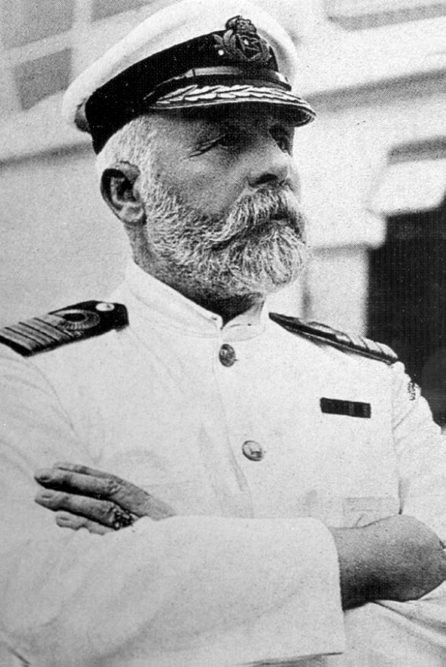 Edward Smith, Titanic's captain.