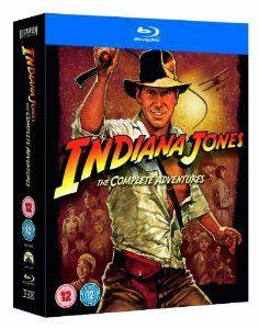 Indiana Jones The Complete Adventures Blu-ray 1981 Region Free: Amazon.co.uk: Harrison Ford, Sean Connery, Steven Spielberg, George Lucas: Film & TV