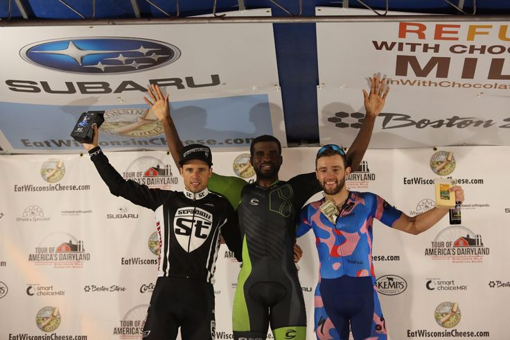 Cylance Pro Cycling's Justin Williams Wins Shorewood Criterium Cycling Classic stage of Tour of America's Dairyland