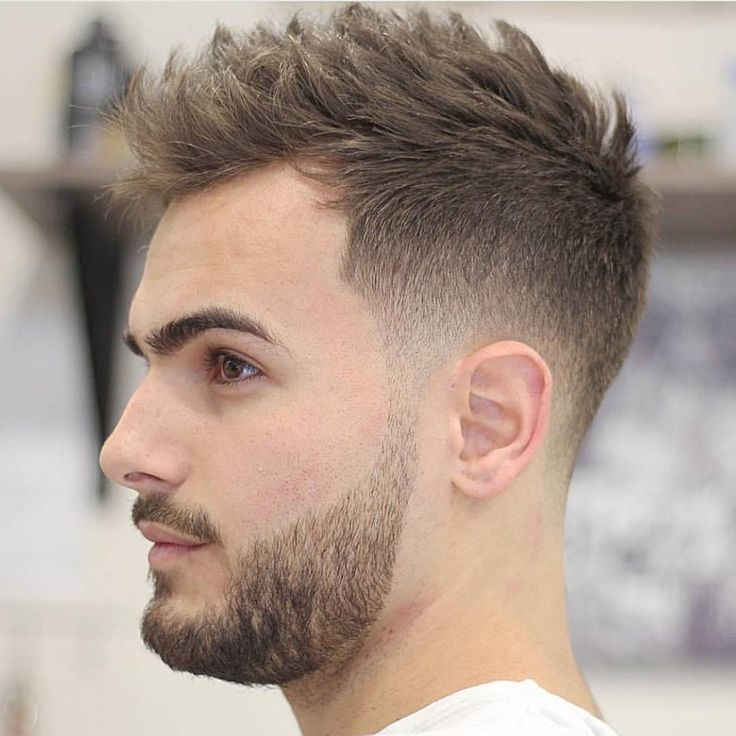 Short Hairstyles For Men Fair 21 Best Hairstyles For Men With Receding Hairlines Images On