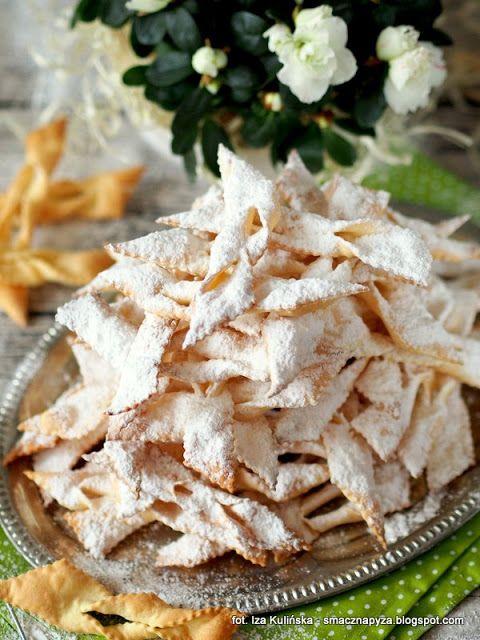 Smaczna Pyza poleca - faworki pieczone czyli chrust z piekarnika