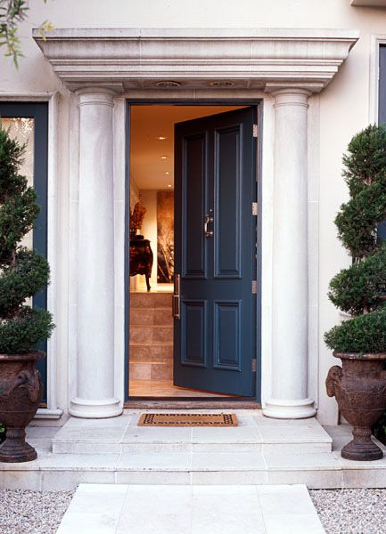 17 best ideas about navy front doors on pinterest blue for Navy blue front door