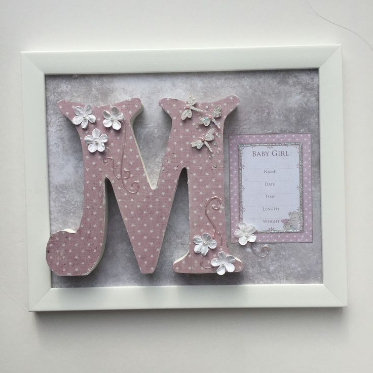 A personal favourite from my Etsy shop https://www.etsy.com/uk/listing/265106979/custom-made-wooden-letters-for-baby-girl