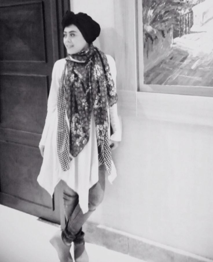 Black Turban , my fashion