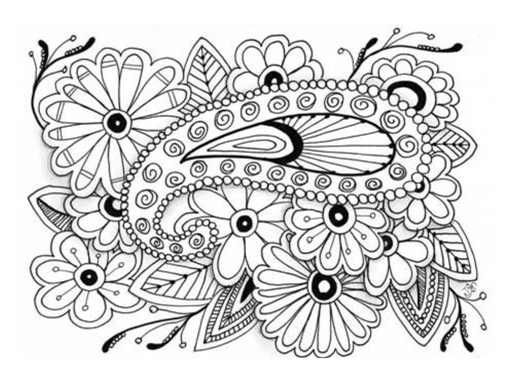 printable coloring pages difficult coloring pages