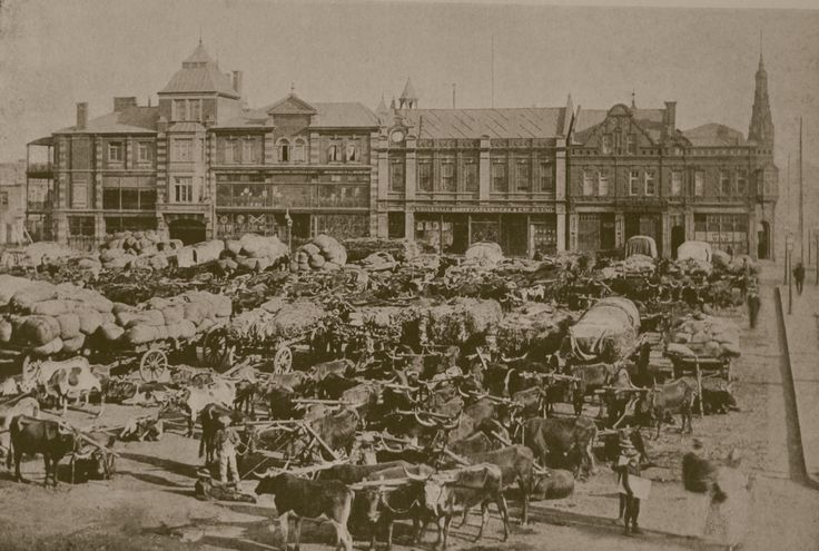 Boer War: Johannesburg Market | Flickr - Photo Sharing!