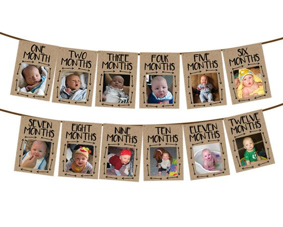 This is a great way to show off your babys first year at their big 1st birthday! This banner is big enough to easily see the photos, and adds a great decor to your Wild One Birthday party. Several ways to purchase this item, to accommodate your varying needs - please read below in full and if you have any questions at all, send me a conversation - I answer quickly!  → PRINTED Finished Banner DETAILS ★ Each pennant is approx. 5 x 7, Approximate total length is either 60 continuous or two 30…