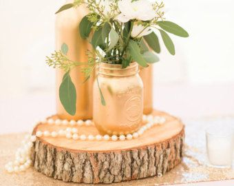Pinterest Perfect! Looking for twine beer bottle decor/ centerpieces?! Look no further. Custom color painted wine bottles will complete the perfect centerpiece whether it be for your wedding, home, or event. Select color option. If you do not see the desired color select CUSTOM in the drop down box. Leave custom color in note to seller section.  COMPLETE THE LOOK: WINE BOTTLES/ MASON JARS/ WOOD SLICES available in shop
