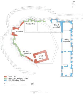 Moreton Corbet Castle - Google Search