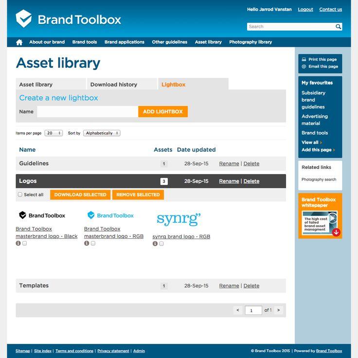 52 best Brand Toolbox - Brand Asset Management images on Pinterest - digital assets management resume