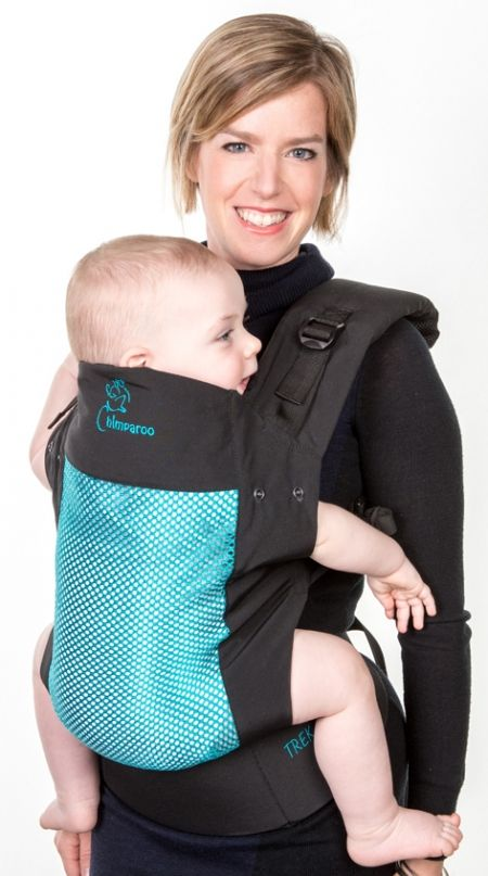 Chimparoo baby carrier TREK Air-O is the new Ergonomic baby carrier for hot summer days! Free shipping in Canada and worldwide!