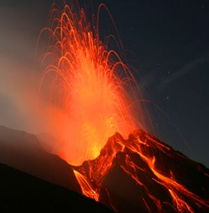 Italy's Stromboli volcano erupts every 10-15 minutes for the past 2,000 years
