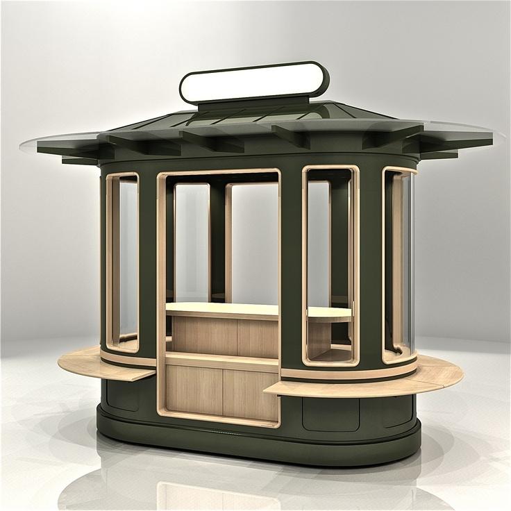 78 best images about kiosk on pinterest shopping mall for Exterior kiosk design