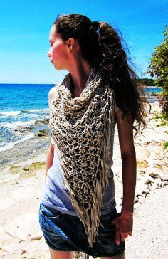 PDF Quick and Easy CROCHET PATTERN for the Wisconsin Scarf Simple... - Scarves - Green: Knitted Scarves For Girls by Knit My Life