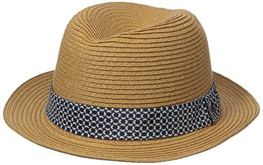 8d258f060ee8b Ben Sherman Men s Braided Straw Trilby Hat Review