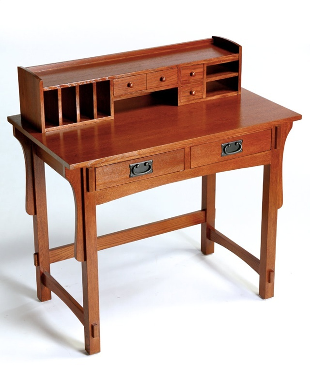 Arts And Crafts Mission Desk (Small)