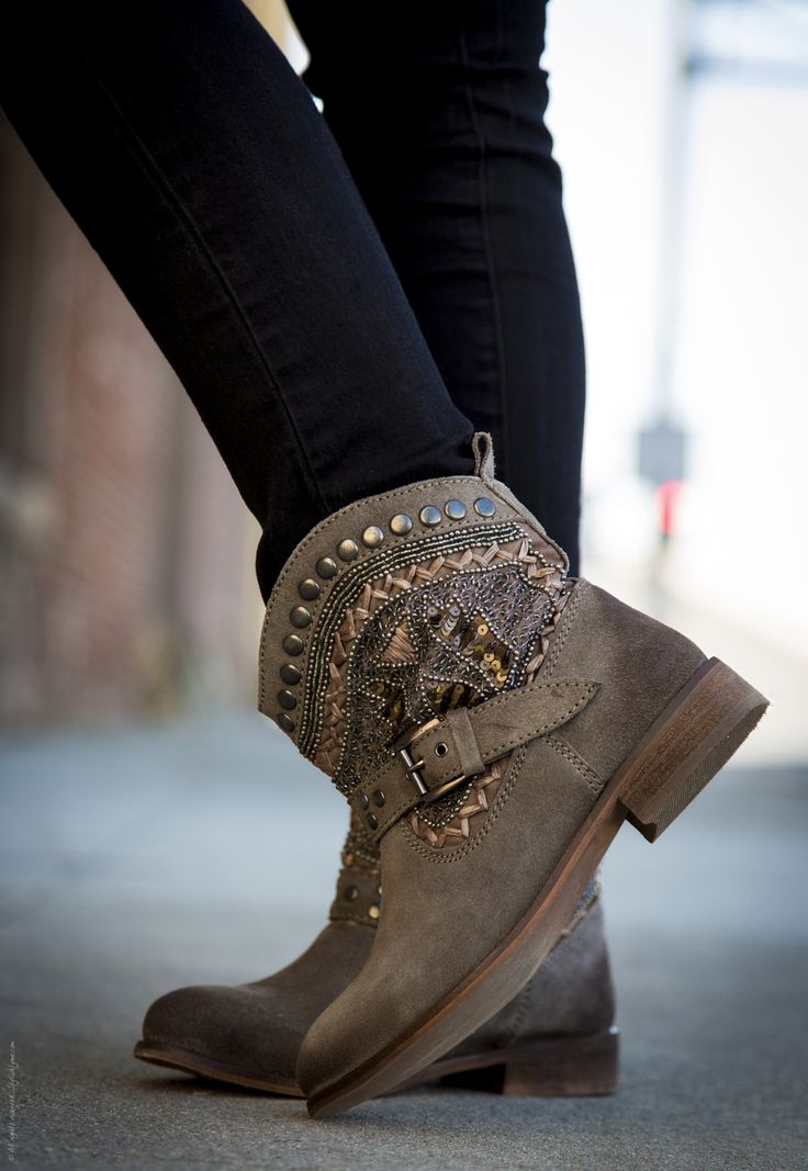 from Naughty Monkey · Vanessa from Stylishlyme.com in our LYSANDRA boots!