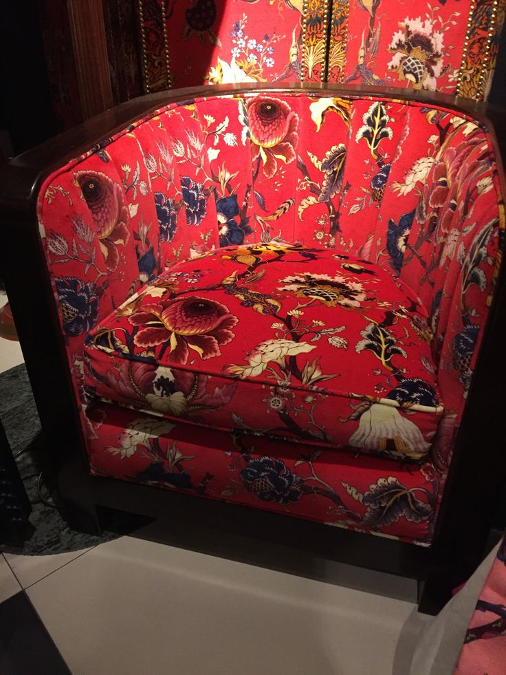 Traditional tub chair in House of Hackney