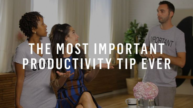 How To Prioritize: One Tip That Does It All (Marie Forleo) #timemanagement #tip #video