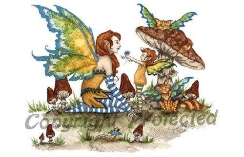 Amy Brown Print Fairy Precious Little Things
