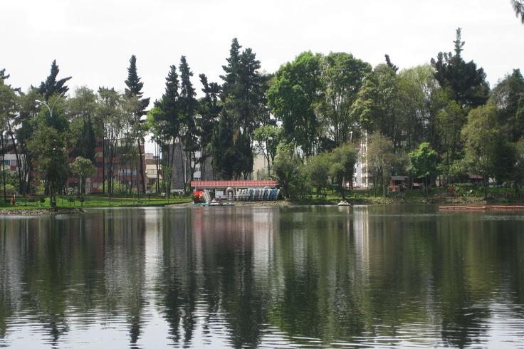 Parque el Lago en Bogotá