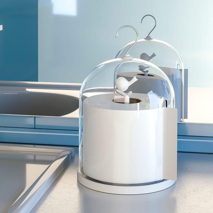 Extrêmement Oltre 25 fantastiche idee su Portarotolo di carta igienica su  JU71