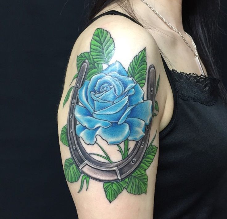 82 best images about tattoos on horseshoe