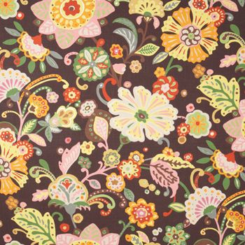 "Fun prints. ""Wilford"" fabric by Clarence House. clarencehouse.com"
