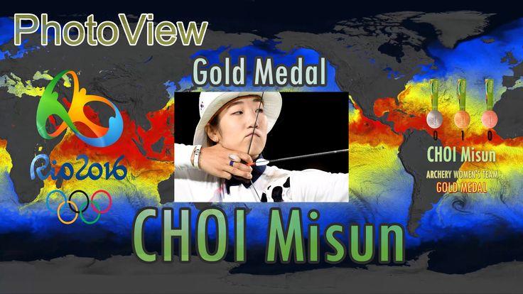 VRIDC - VR Sports : Rio olympics- ARCHERY WOMEN'S TEAM : CHOI Misun - Go...