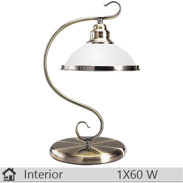 Veioza iluminat decorativ interior Rabalux, gama Elisett, model 2752 http://www.etbm.ro/corpuri-de-iluminat